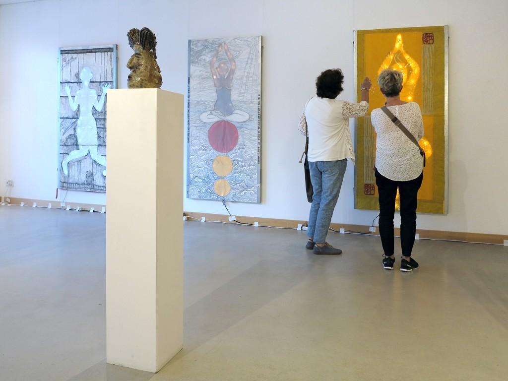 Galerie im Kulturhaus Karlshorst; Kommunale Galerien; KGB; Berlin; Wang Lan