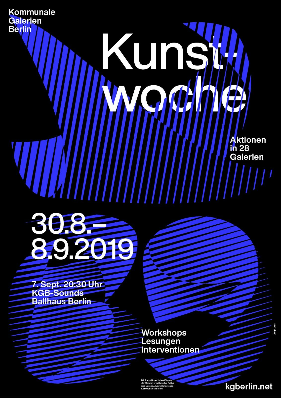 KGB Kunstwoche<br> 2019